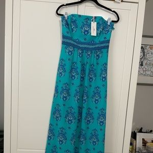 NWT Vineyard Vines Maxi Dress size 6